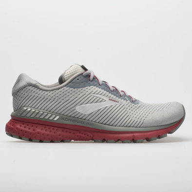Brooks Adrenaline GTS 20 Men's Grey/Silver/Red