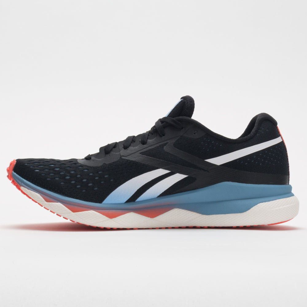 Reebok Floatride Run Fast 2.0 Men's Black/Fluid Blue/Vivid Orange ...