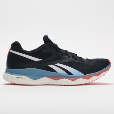 Reebok Floatride Run Fast 2.0 Men's Black/Fluid Blue/Vivid Orange