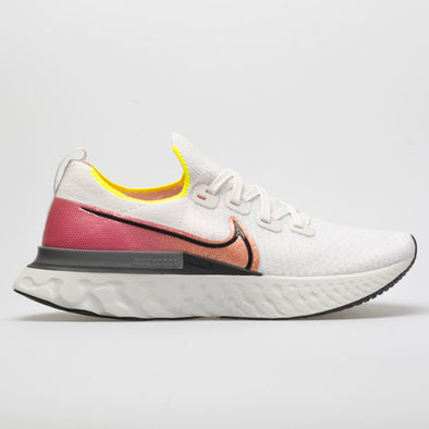 Nike React Infinity Run Flyknit Men's Platinum Tint/Black/Pink Blast