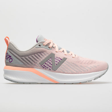 New Balance 870v5 Women's Peach Soda/Silver Mink