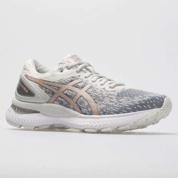 ASICS GEL-Nimbus 22 Knit Women's Sheet Rock/Rose Gold