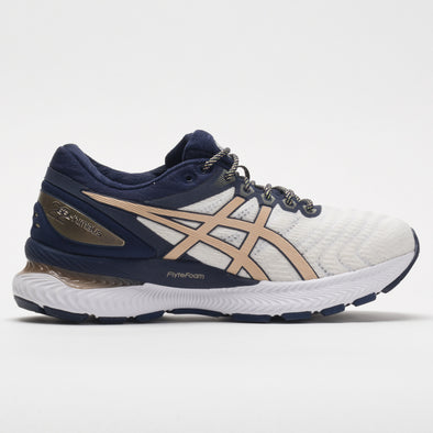 ASICS GEL-Nimbus 22 Strong Women's White/Champagne