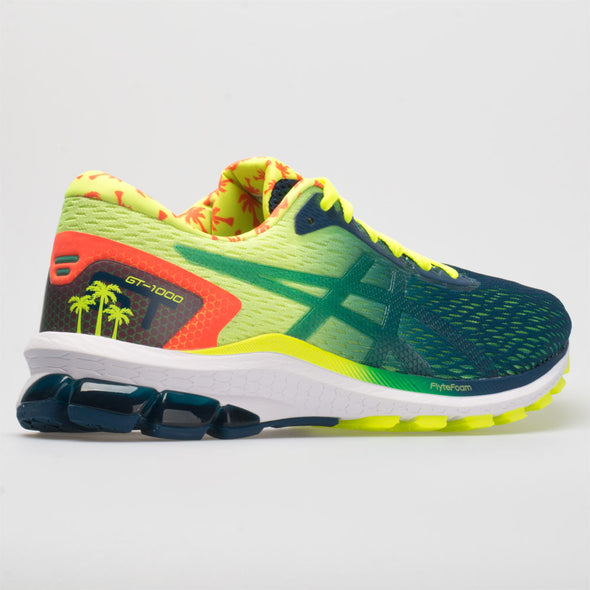 ASICS GT-1000 9 Men's Safety Yellow/Mako Blue