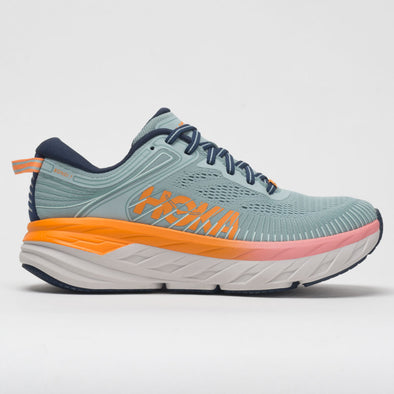 Hoka One One Bondi 7 Women's Blue Haze/Black Iris