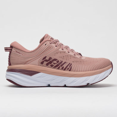 Hoka One One Bondi 7 Women's Misty Rose/Cordovan