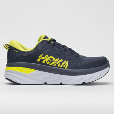 Hoka One One Bondi 7 Men's Odyssey Grey/Deep Well