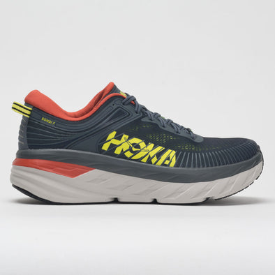 Hoka One One Bondi 7 Men's Turbulence/Chili