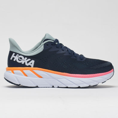 Hoka One One Clifton 7 Women's Black Iris/Blue Haze