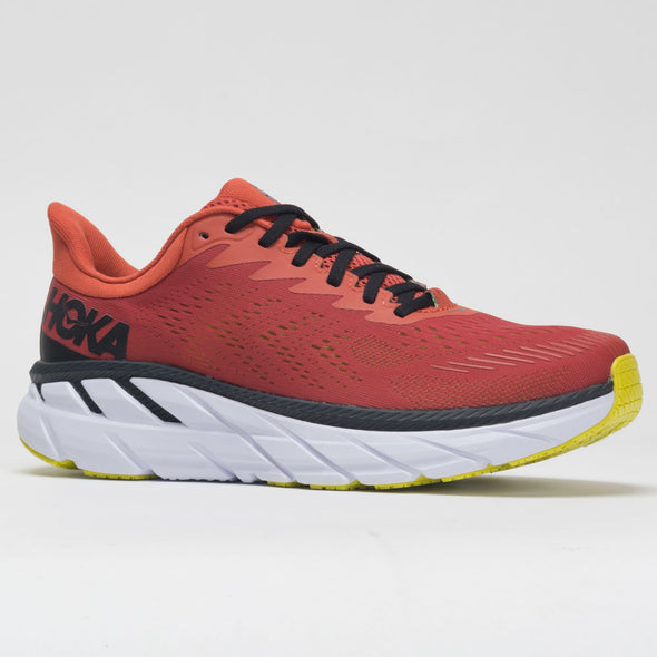 Hoka One One Clifton 7 Men's Chili/Black