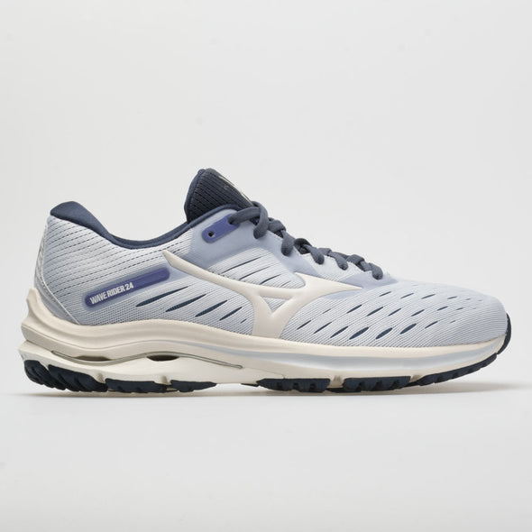 Mizuno Wave Rider 24 Women's Arctic Ice/Snow White