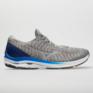 Mizuno Wave Rider 24 Waveknit Men's Frost Gray/White