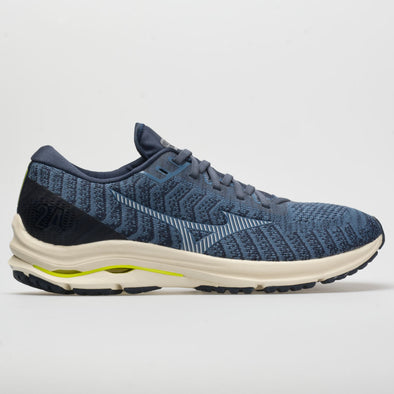 Mizuno Wave Rider 24 Waveknit Men's Moonlight Blue/Arctic Ice