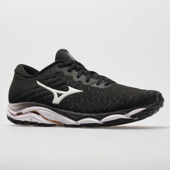 Mizuno Wave Inspire 16 Waveknit Men's Black/White