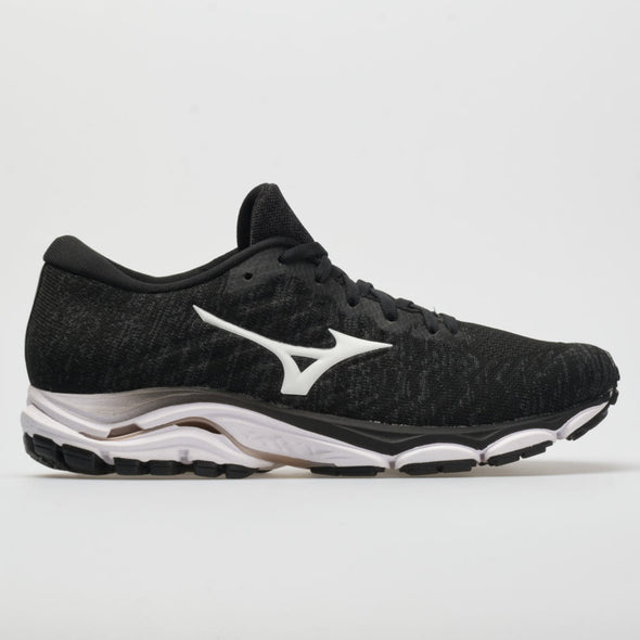 Mizuno Wave Inspire 16 Waveknit Women's Black/White