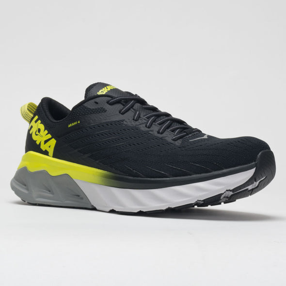 Hoka One One Arahi 4 Men's Black/Evening Primrose