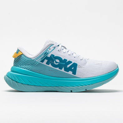 Hoka One One Carbon X Women's White/Angel Blue