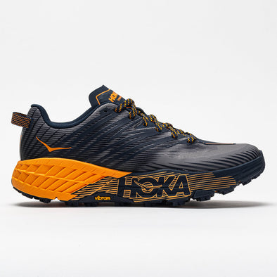 Hoka One One Speedgoat 4 Men's Black Iris/Bright Marigold