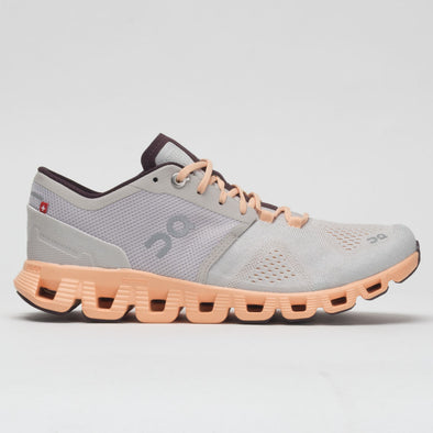 On Cloud X Women's Silver/Almond