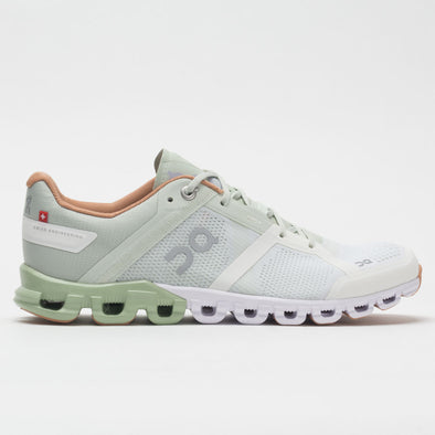 On Cloudflow Women's Aloe/White