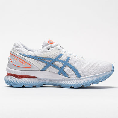 ASICS GEL-Nimbus 22 Women's White/Blue Bliss