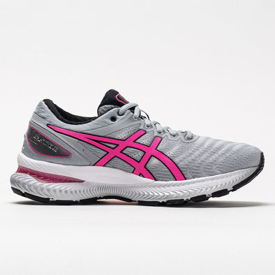 ASICS GEL-Nimbus 22 Women's Piedmont Gray/Hot Pink