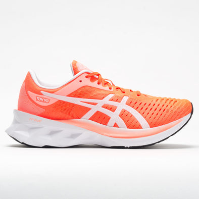 ASICS Novablast Women's Sunrise Red/White