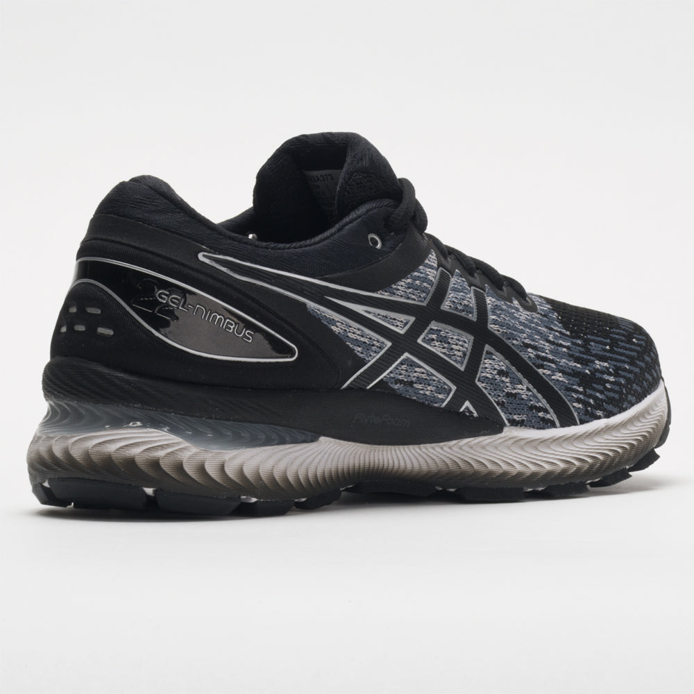 womens black asics gel nimbus
