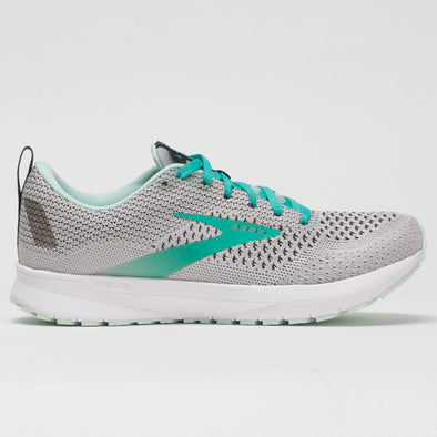 Brooks Revel 4 Women's Gray/Fair Aqua/Black