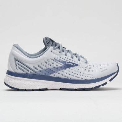 Brooks Ghost 13 Men's White/Gray/Deep Cobalt