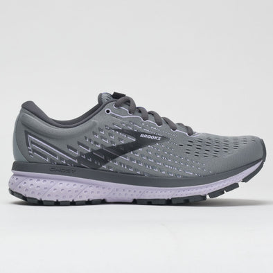 Brooks Ghost 13 Women's Gray/Blackened Pearl/Purple