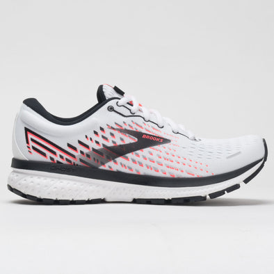 Brooks Ghost 13 Women's White/Pink/Black