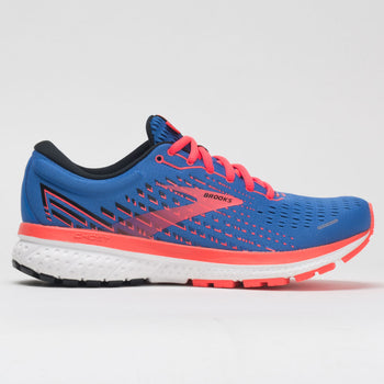 Brooks Ghost 13 Women's Blue/Coral/White (Item #045657)