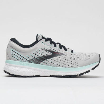 Brooks Ghost 13 Women's Gray/Fair Aqua/Black
