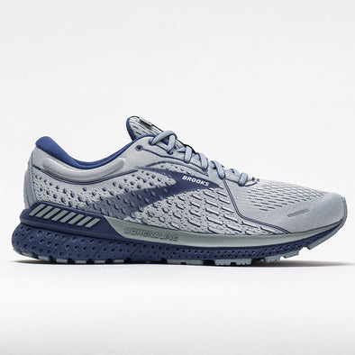 Brooks Adrenaline GTS 21 Men's Gray/Tradewinds/Deep Cobalt