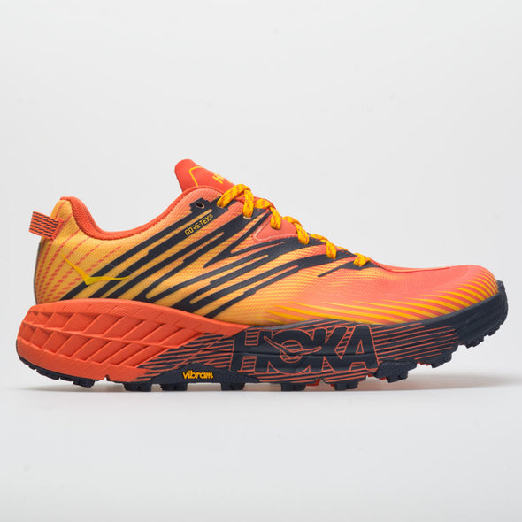 Hoka One One Speedgoat 4 GTX Men's Mandarin Red/Gold Fusion