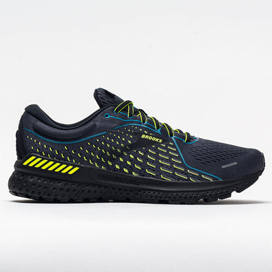 Brooks Adrenaline GTS 21 Men's Black/Blue Jewel/Nightlife