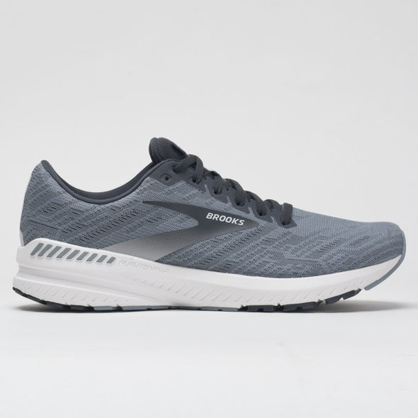 Brooks Ravenna 11 Men's Gray/Ebony/White