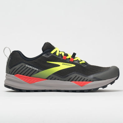 Brooks Cascadia 15 Men's Black/Raven/Cherry Tomato
