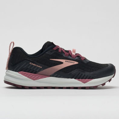 Brooks Cascadia 15 Women's Black/Ebony/Coral Cloud