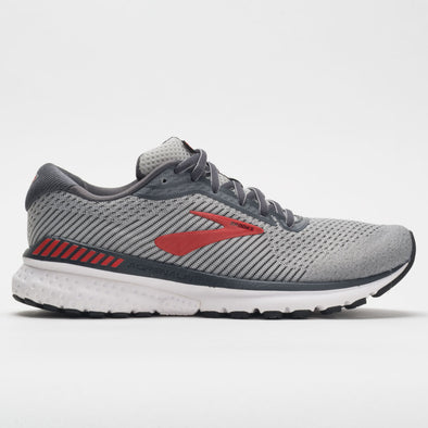 Brooks Adrenaline GTS 20 Men's Gray/Ebony/Red
