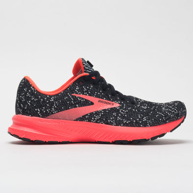 Brooks Launch 7 Liftoff Pack Women's Black/Fiery Coral