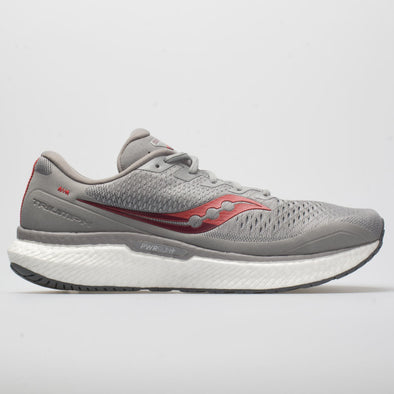 Saucony Triumph 18 Men's Alloy/Red