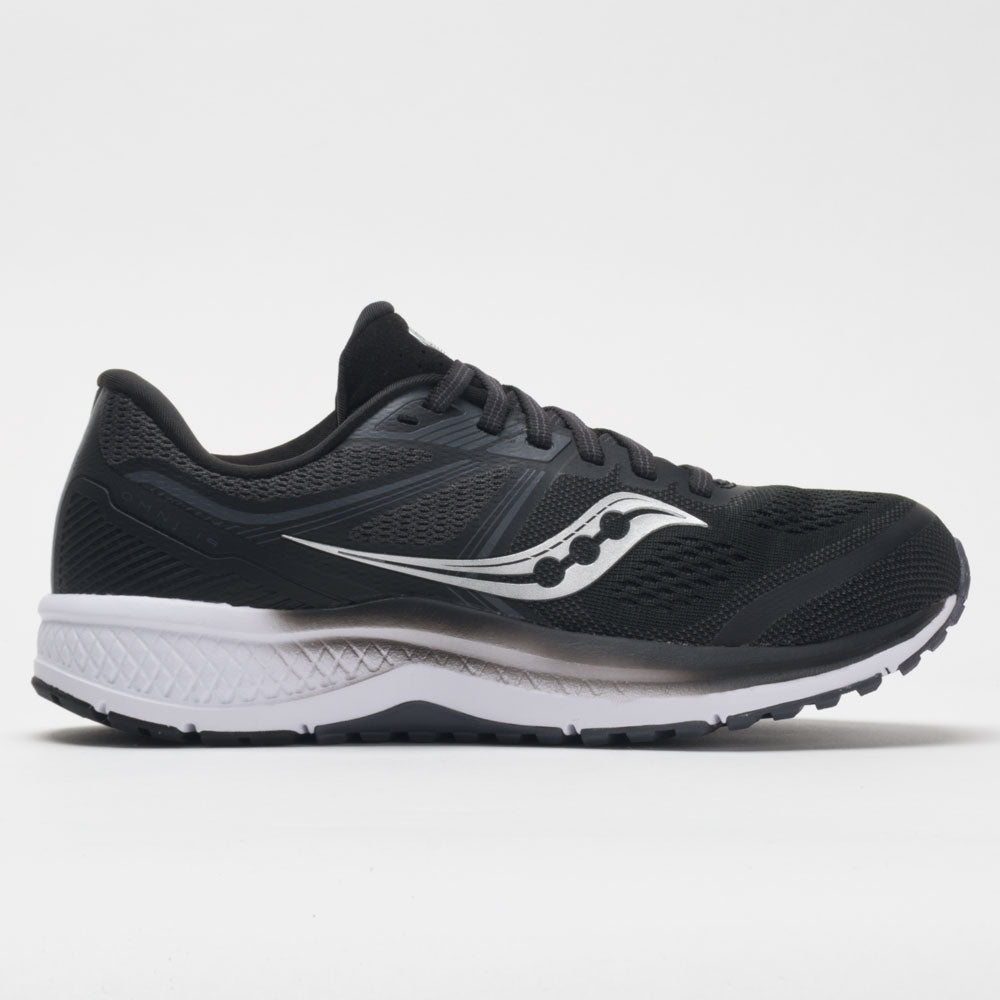 womens black saucony running shoes