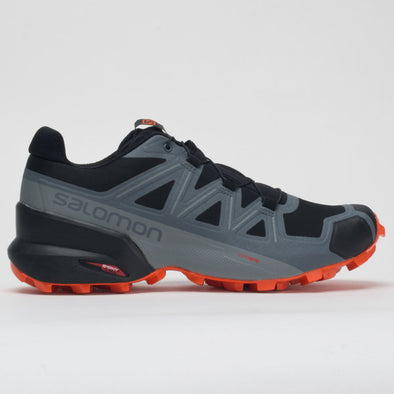 Salomon Speedcross 5 Men's Black/Stormy Weather/Red Orange