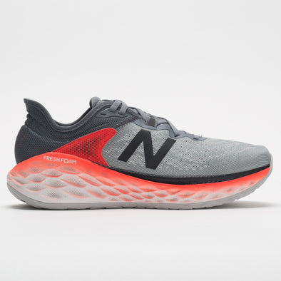 New Balance Fresh Foam More v2 Men's Gunmetal/Neo Flame