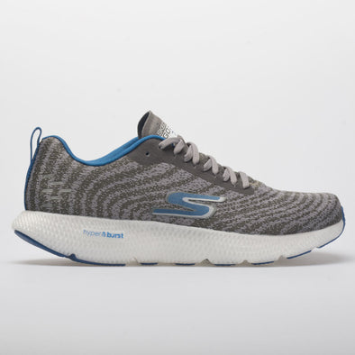 Skechers GOrun 7+ Men's Charcoal/Blue