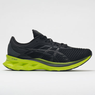 ASICS Novablast Men's Black/Lime Zest