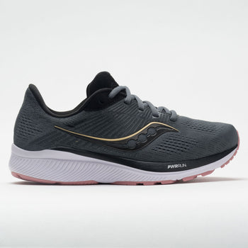 Saucony Guide 14 Women's Charcoal/Rose (Item #045974)