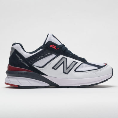New Balance 990v5 Men's Carbon/Team Red